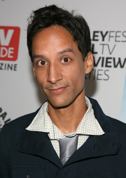 The 38-year old son of father Abraham Pudi and mother Teresa Pudi, 192 cm tall Danny Pudi in 2017 photo