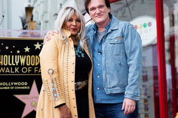 Pam Grier Quentin Tarantino Honored With Star on the Hollywood Walk of Fame
