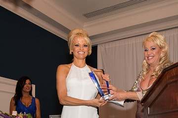 Pamela Anderson The Fifth Annual Better World Awards
