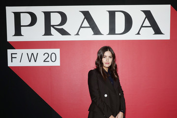 Paola Alberdi Prada Fall/Winter 2020/2021 Womenswear Fashion Show – Arrivals and Front Row