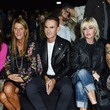 Paola Barale DSquared2 - Front Row - Milan Fashion Week SS16