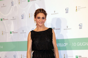 Paola Minaccioni Arrivals at the David Di Donatello Awards Ceremony