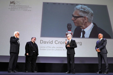 Paolo Baratta 'M Butterfly' And Lifetime Achievement Award To David Cronenberg Red Carpet Arrivals - 75th Venice Film Festival