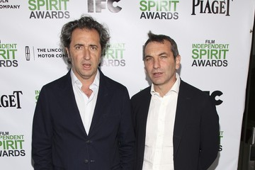 Paolo Sorrentino Nicola Giuliano 2014 Film Independent Filmmaker Grant And Spirit Awards Nominees Brunch - Arrivals