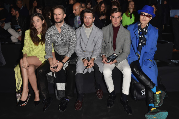 Front Row at Ermanno Scervino