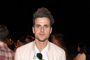 """Jared Followill of the band Kings of Leon attends the Neon Carnival with PacSun, """"Dope the Movie and Tequila Don Julio at the Thermal Hangar on April 11, 2015 in Thermal, California."""