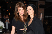 "Helena Christensen and  Camilla Staerk attend the ""Ghost In The Shell"" premiere after party hosted by Paramount Pictures & DreamWorks Pictures at The Ribbon on March 29, 2017 in New York City."