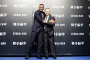 "(from left) Will Smith and Ang Lee attend the Paramount Pictures ""Gemini Man"" Taipei Premiere at Miramar Da-Zhi Cinema on October 21, 2019 in Taipei, Taiwan."