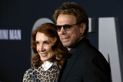 "(L-R) Jerry Bruckheimer and Linda Bruckheimer attend Paramount Pictures' premiere of ""Gemini Man"" on October 06, 2019 in Hollywood, California."