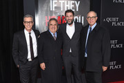 (L-R) Brad Fuller, Jim Gianopulos, John Krasinski, and David Sameth attend the Paramount Pictures New York Premiere of 'A Quiet Place' at AMC Lincoln Square theater on April 2, 2018 in New York, New York.