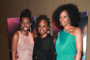 """(L-R) Adepero Oduye, Dee Rees and Kim Wayans attend the """"Pariah"""" premiere at the Tribeca Grand Hotel on December 1, 2011 in New York City."""