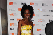 "Actress Adepero Oduye attends ""Pariah"" Premiere at TIFF Bell Lightbox during the 2011 Toronto International Film Festival on September 12, 2011 in Toronto, Canada."