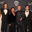 Paris Brosnan The 2020 InStyle And Warner Bros. 77th Annual Golden Globe Awards Post-Party - Red Carpet