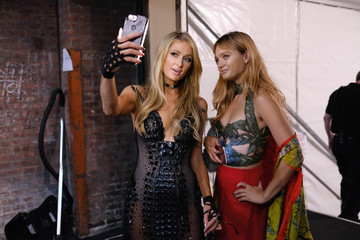 Paris Hilton The Blonds - Backstage - September 2017 - New York Fashion Week Presented By MADE