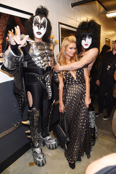 Paris hilton and gene simmons photos photos three lions entertainment prese - Simmons simmons paris ...