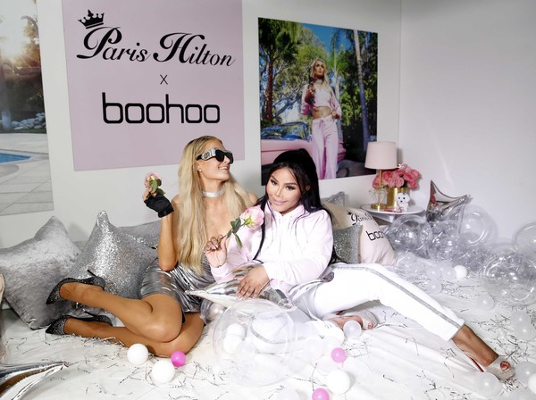 c2e2c75cc0e7 Paris Hilton and Lil Kim Photos Photos - Boohoo.com x Paris Hilton ...
