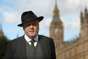Respect MP George Galloway stands outside The Houses of Parliament on September 26, 2014 in London, England. MPs will vote later today on whether the UK should join air strikes against the group calling themselves IS, (Islamic State) or ISIL, in Iraq. The defence secretary warned that the fight against Islamic State could last up to three years.