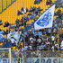 Fans of Empoli FC show their support before the Serie A match between Parma Calcio and Empoli at Stadio Ennio Tardini on September 30, 2018 in Parma, Italy.