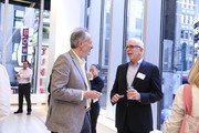 (L-R) Ellis Verdi, Owner of DeVito/Verdi and Larry Burstein, Publisher of New York Magazine attend the Partnership for New York City and New York Magazine Present: The New New York, Where Wall Street Meets Silicon Alley at Viacom Building on September 21, 2015 in New York City.