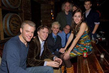 "Matt Leisy Party For Aaron Carter's Off-Broadway Opening Night In ""The Fantasticks"""