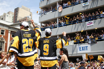 Pascal Dupuis Pittsburgh Penguins Victory Parade and Rally