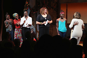 Pascale Armand National Democratic Leader Nancy Pelosi Joins Company of Broadway's 'Eclipsed'