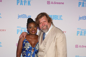 """Pascale Armand Shakespeare In The Park's """"Merry Wives"""" Opening Night"""