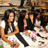 Vanessa Simmons Jessica Brown Photos - (L-R) T.V. personalites Vanessa Simmons, Angela Simmons, and Jessica Brown attend the Fashion's Night Out Kick-Off event at the Underground Staton at Queens Center Mall on September 10, 2009 in New York City. - Pastry By Angela & Vanessa Simmons Celebrates Fashion's Night Out
