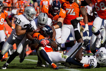 Pat Lee Oakland Raiders v Denver Broncos