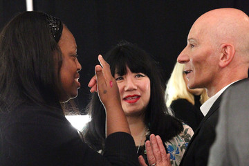 Pat McGrath Anna Sui - Backstage - Mercedes-Benz Fashion Week Spring 2015