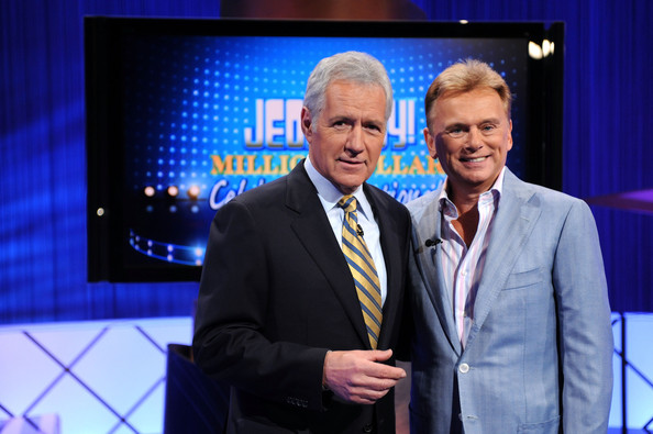 Pat+Sajak+Alex+Trebek+Jeopardy+Million+D