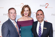 Don Hribek, Brenda Strong and Ken Mosesian arrive at Path2Parenthood - Illuminations LA 2016 at The Four Seasons Hotel on April 15, 2016 in Beverly Hills, California.