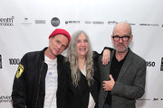 Flea, Patti Smith and Michael Stipe attend the After Party for Pathway To Paris Concert For Climate Action  on November 5, 2017 in New York City.