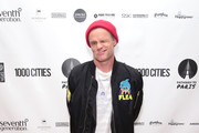 Flea attends the After Party for Pathway To Paris Concert For Climate Action  on November 5, 2017 in New York City.