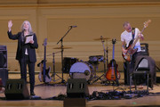 Patti Smith and Flea perform on stage during Pathway To Paris Concert For Climate Action at Carnegie Hall on November 5, 2017 in New York City.
