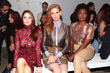 Patina Miller Georgine - Front Row - September 2016 - New York Fashion Week: The Shows