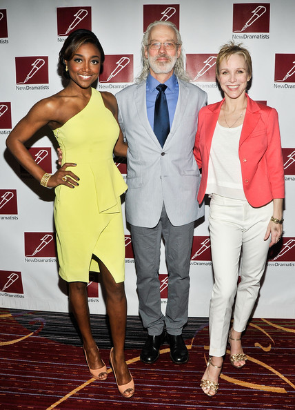 Arrivals at the New Dramatists' Benefit Luncheon