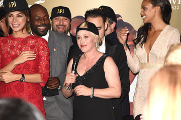 Patricia Arquette Ciera Foster 8th Annual Hollywood Domino Gala Presented By BOVET 1822 Benefiting Artists For Peace And Justice