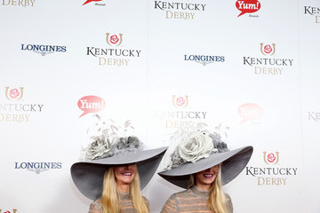 Patricia Barnstable Brown Derby Style at the 141st Kentucky Derby