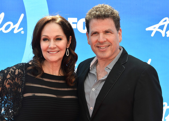 Arrivals at the 'American Idol' Results Show [american idol 2013,event,premiere,smile,white-collar worker,tourism,arrivals,voice coach,michael orland,patricia burch mcphee,nokia theatre l.a. live,california,fox,l,finale - results show]