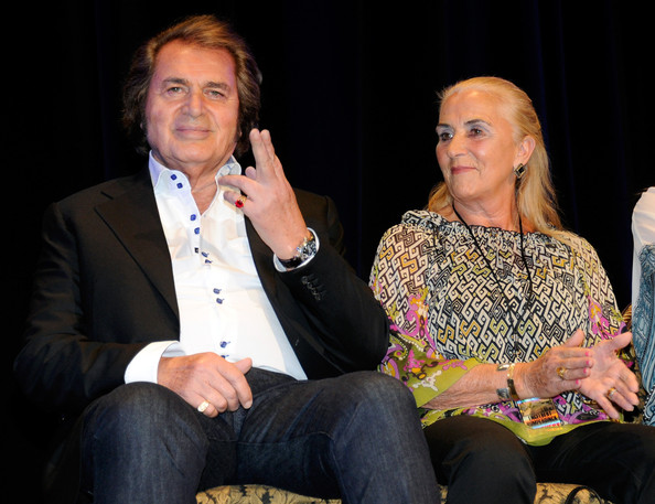 Patricia Dorsey Singer Engelbert Humperdinck (L) and his wife Patricia Dorsey appear at the Paris Las Vegas during his Las Vegas Walk of Stars dedication ceremony July 20, 2011 in Las Vegas, Nevada. His star will be placed outside the resort on July 21.