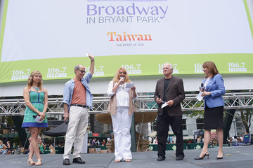 Patricia Richardson Broadway Performances Held in Bryant Park