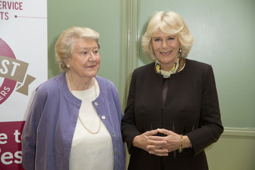 Patricia Routledge The Duchess of Cornwall, President of the Royal Voluntary Service Attends the Launch of GrandFest