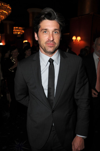 patrick dempsey bulge. Pics from the Alzheimer's Association benefit - Getty