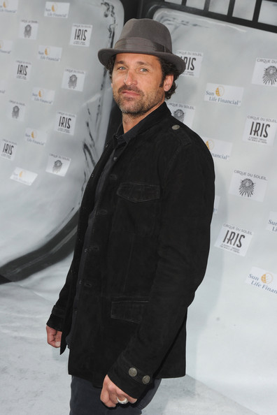 "Patrick Dempsey - World Premiere Of ""IRIS - A Journey Into The World Of Cinema By Cirque du Soleil"" At The Kodak Theatre - Red Carpet"