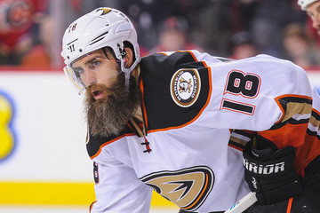Patrick Eaves Anaheim Ducks v Calgary Flames - Game Four