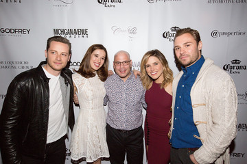 Patrick John Flueger Michigan Avenue Magazine's Late Spring Issue Release Celebration With Sophia Bush At The Godfrey Hotel Chicago