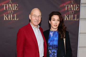 Photo of Patrick Stewart & his  Daughter  Sophie Alexandra Stewart