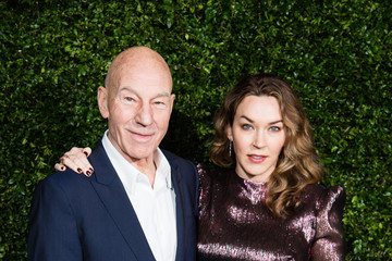 Patrick Stewart The Charles Finch & Chanel Pre-BAFTA's Dinner