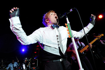 Skoota Warner Patrick Stump Performs At The Hard Rock Cafe On The Strip